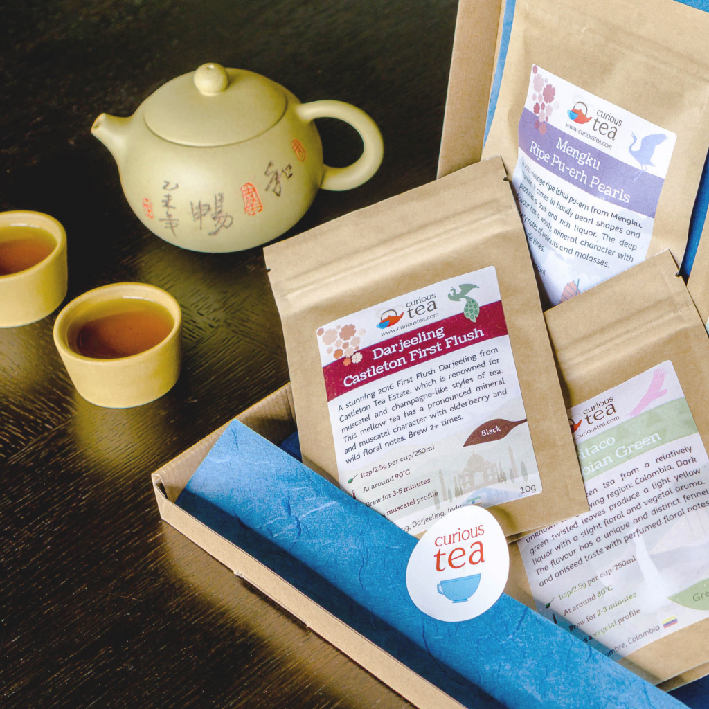 Curious Tea subscription box