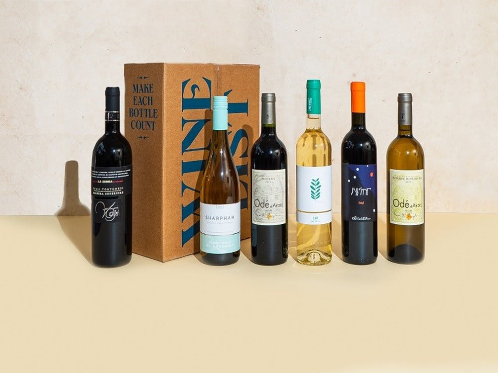 The Wine List subscription box