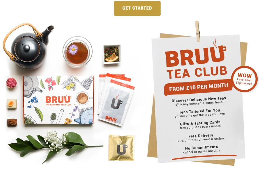 Bruu tea subscription box