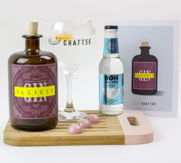 Craft56 Scottish Gin Club subscription box