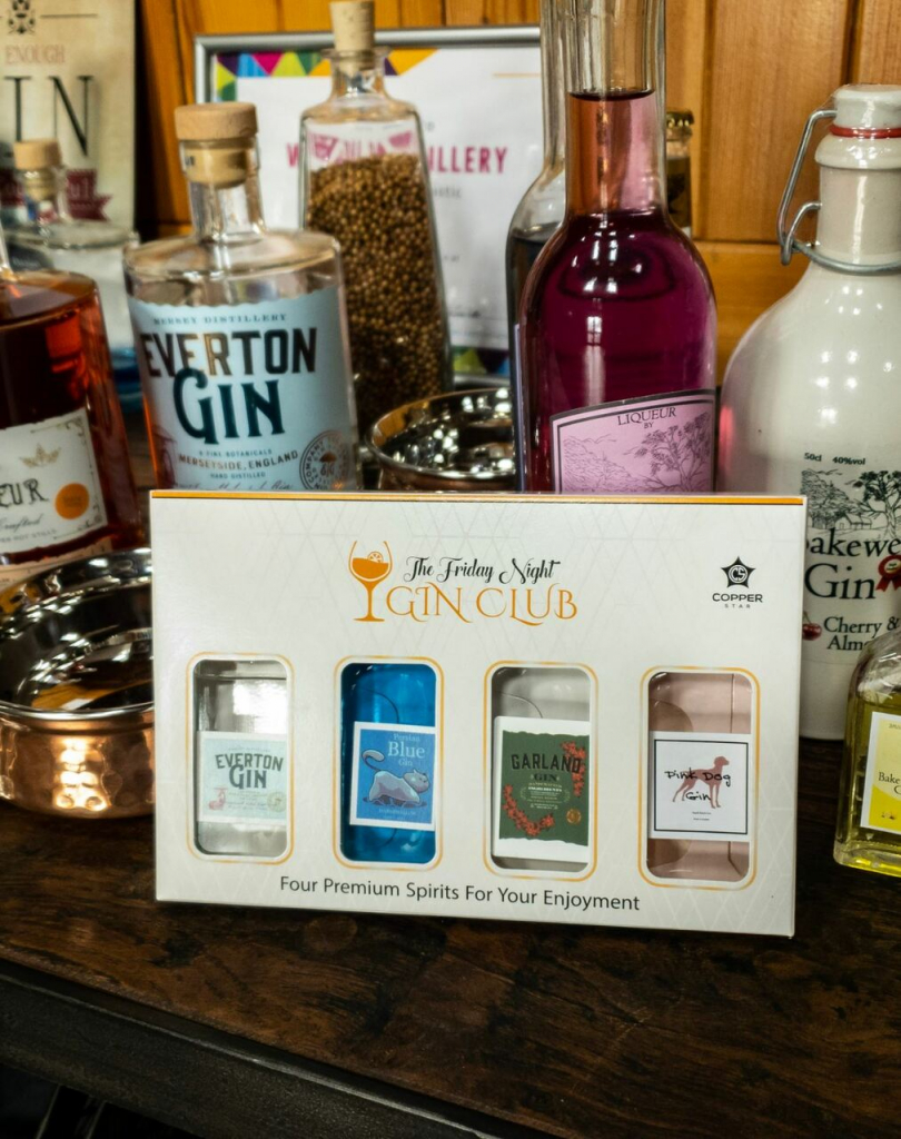 Friday Night Gin Club subscription box