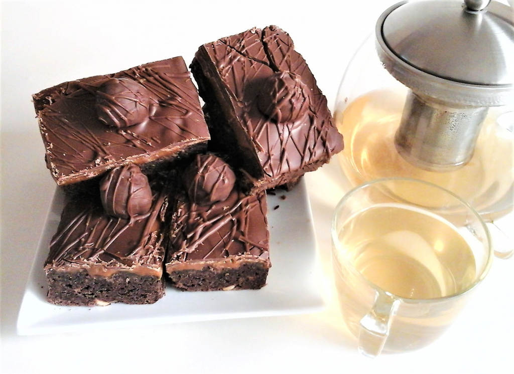 Salted Butter Caramel Brownies