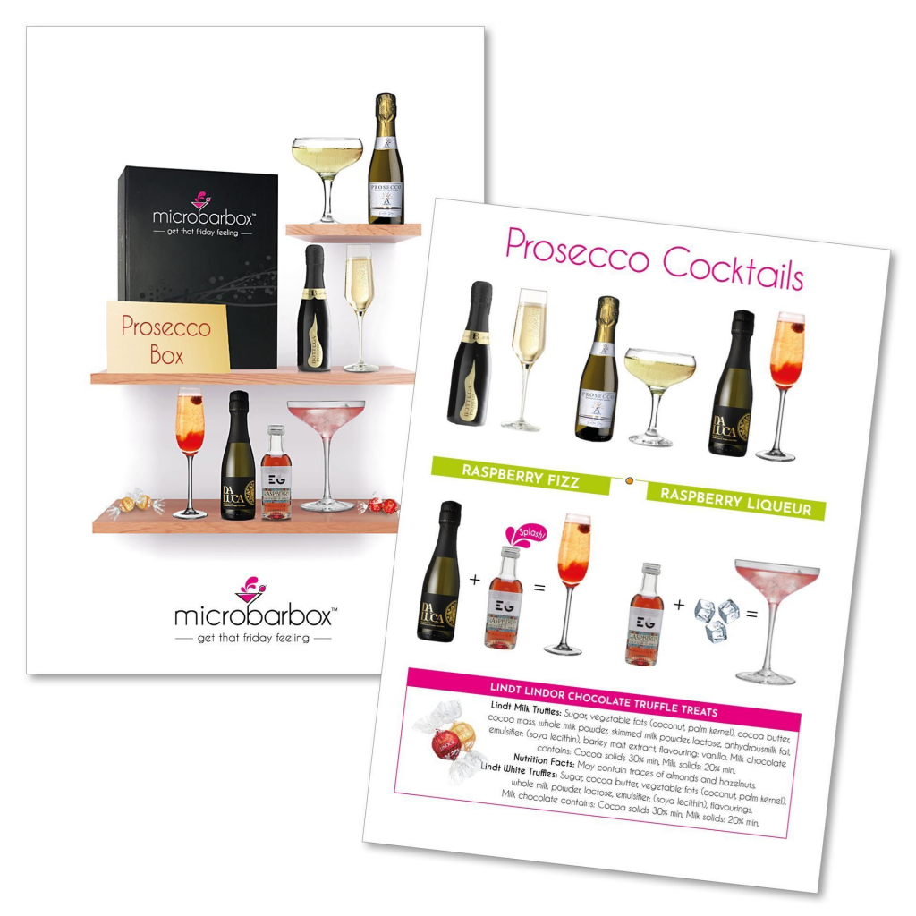 Prosecco Cocktail Kit by Micro Bar Box