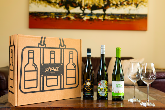 Savage Vines 3 Bottle Monthly Wine Subscription