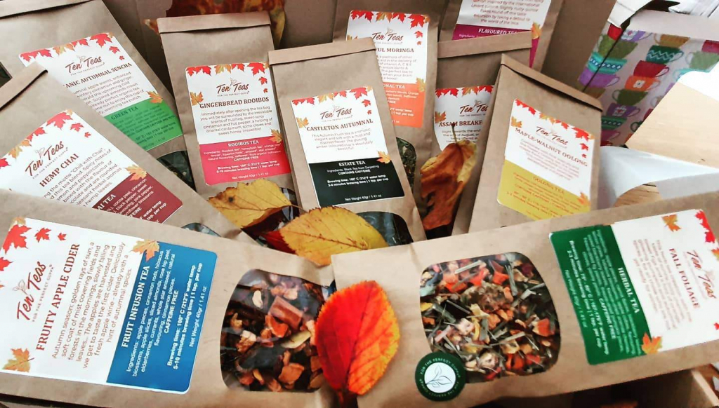 Ten Teas subscription box