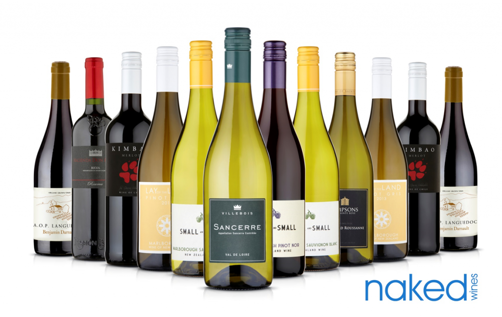 Naked Wines subscription