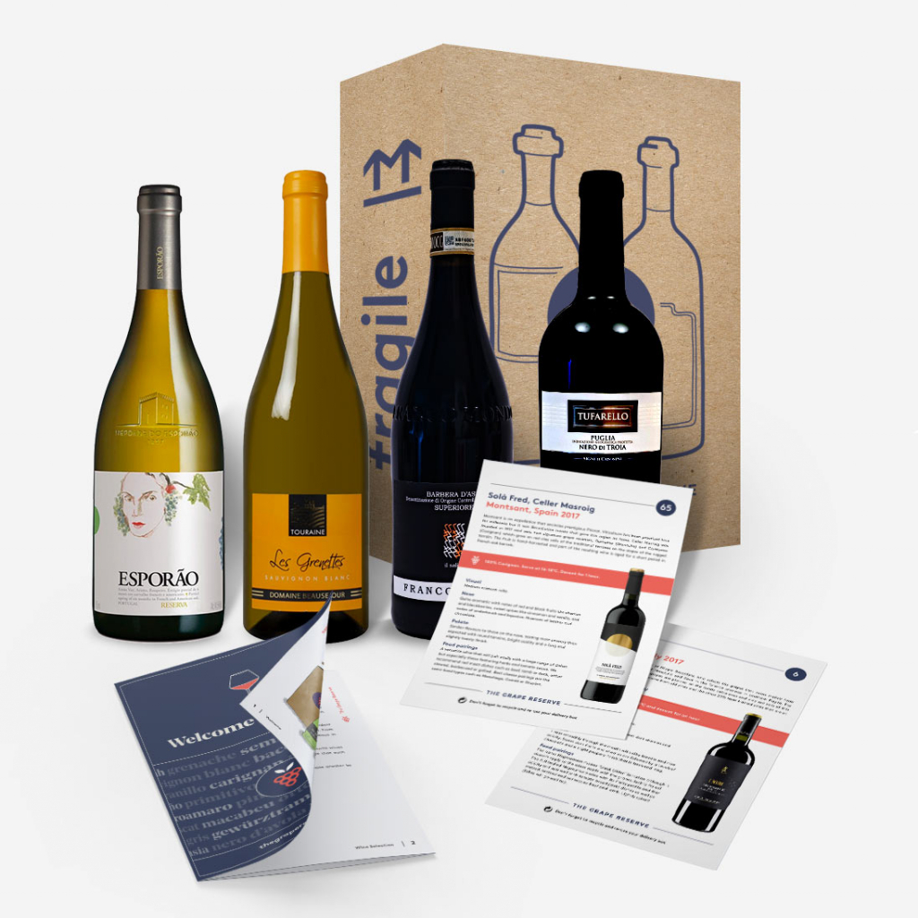 The Grape Reserve wine subscription box