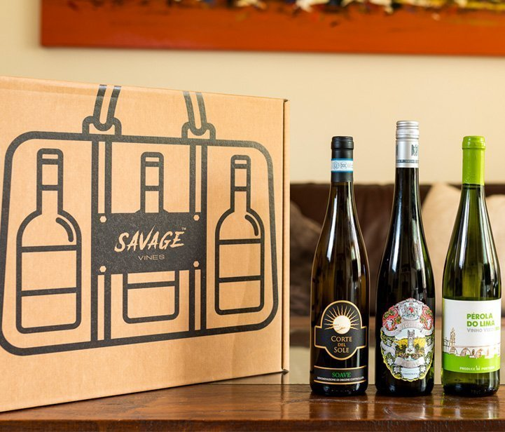 Savage Wines subscription box