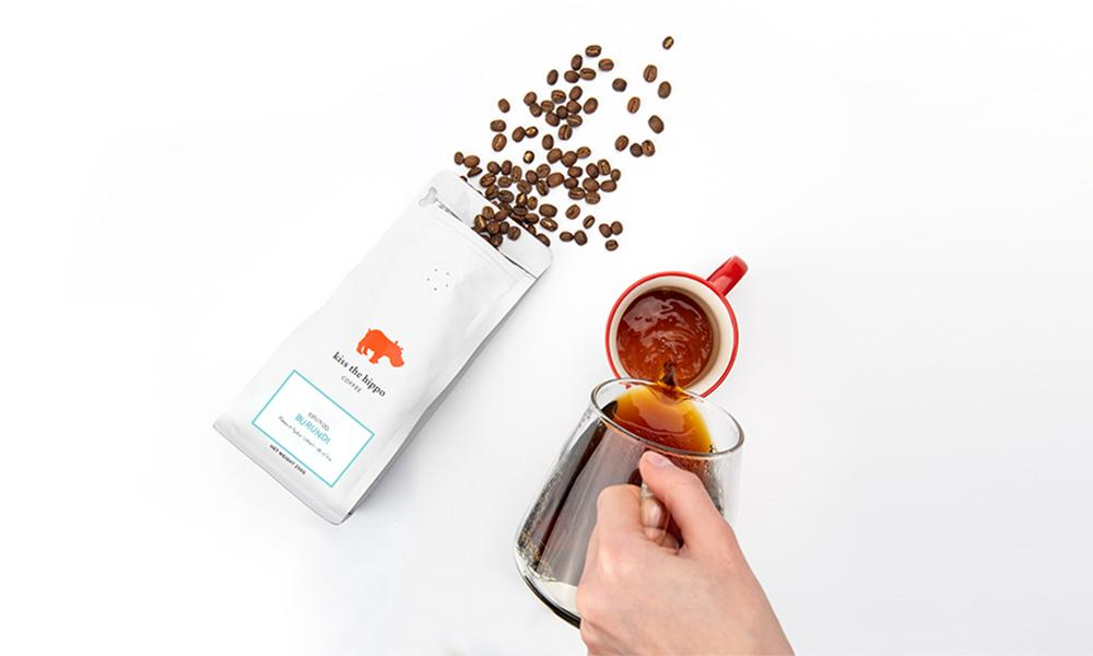 Kiss the Hippo coffee subscription
