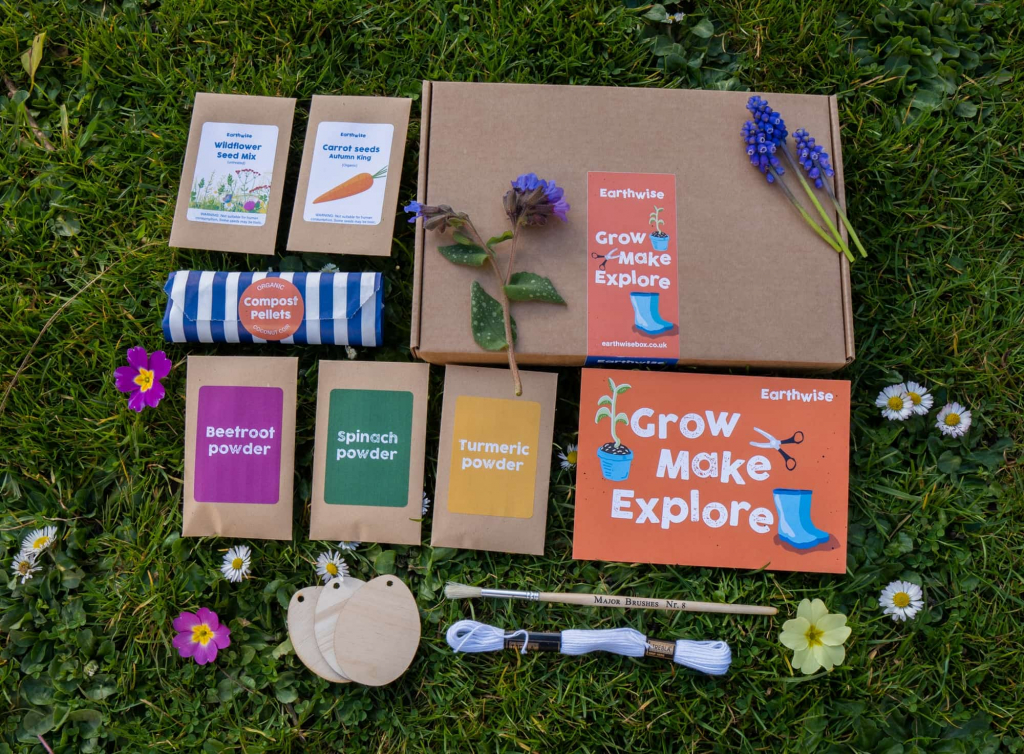 Earthwise kids activity subscription box