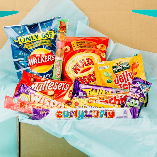 The Great British Box sweet subscription