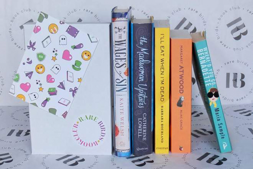 Rare Bird Book Club subscription box