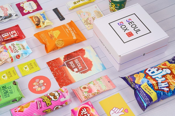 Seoulbox sweet subscription box