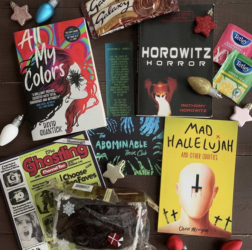 Abominable book club subscription box