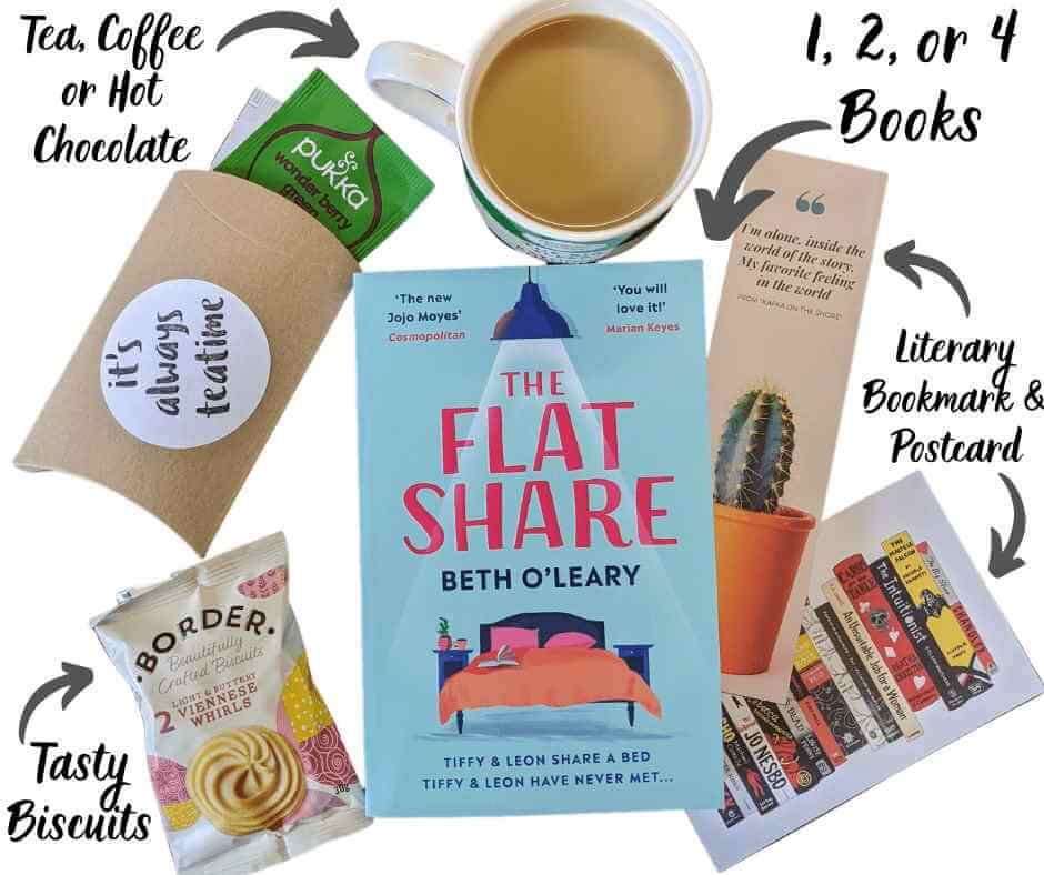 Tea Time book subscription box