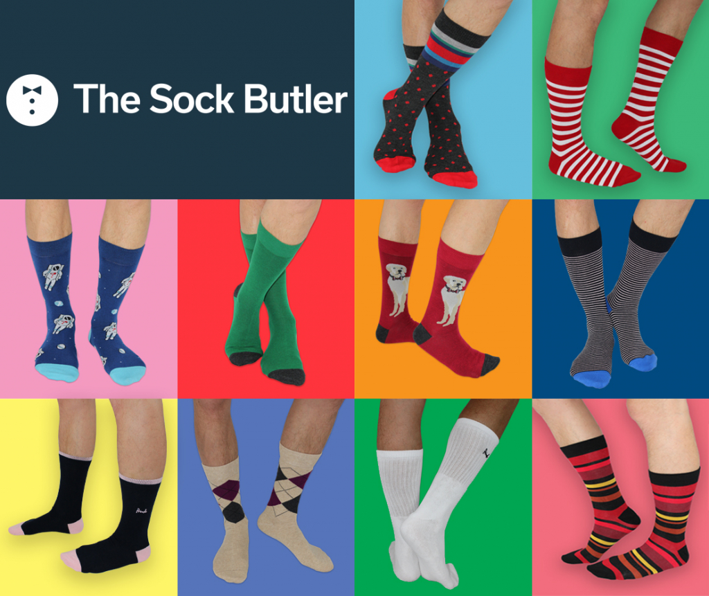 The Sock Butler sock subscription