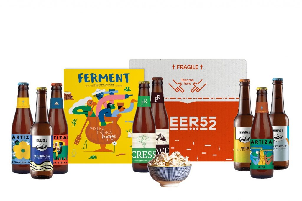 Beer 52 subscription box