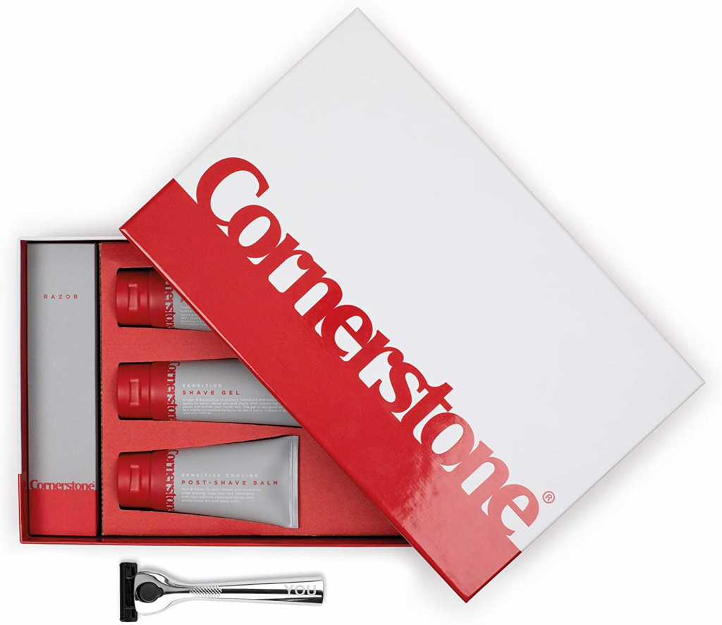 Cornerstone Men's grooming subscription box