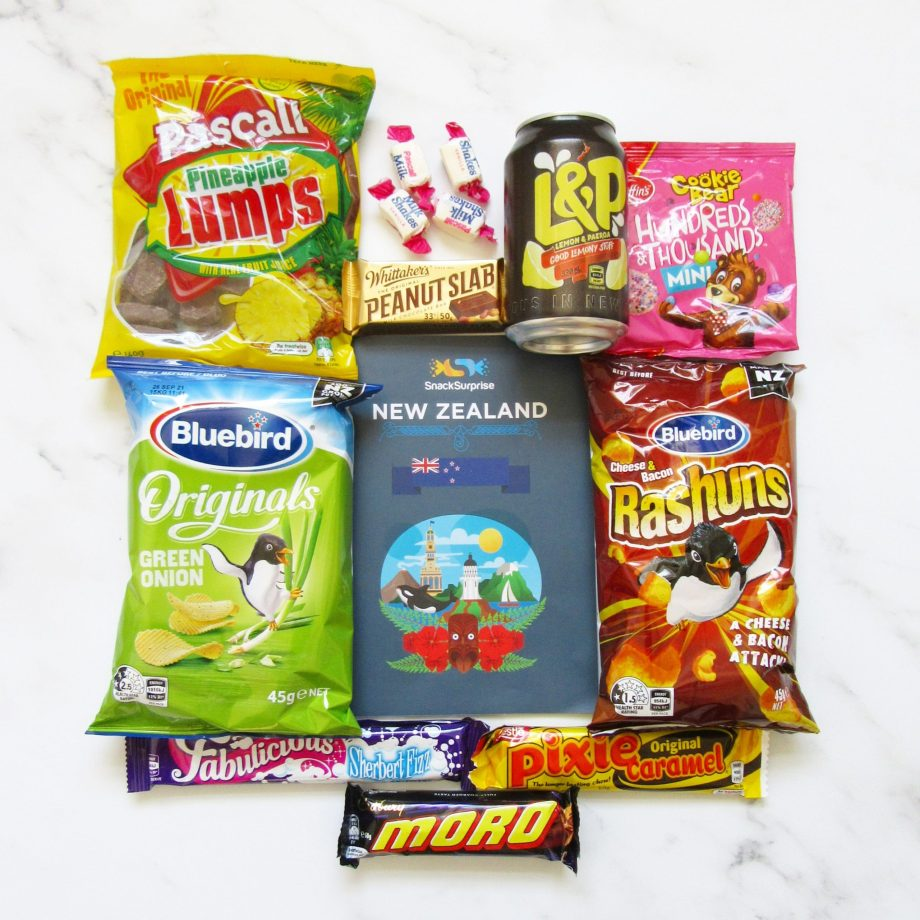 Snack surprise international candy subscription box