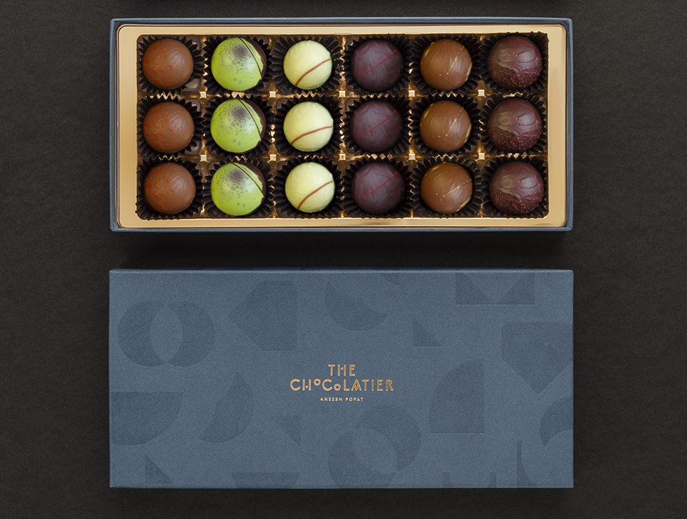 Monthly chocolate candy The Chocolatier