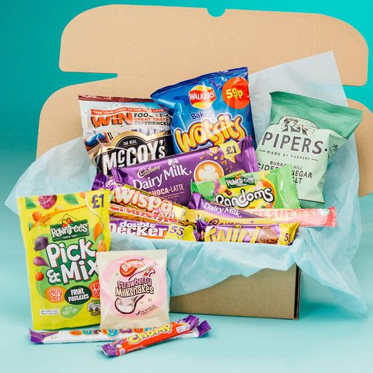Ultimate British Candy Box subscription