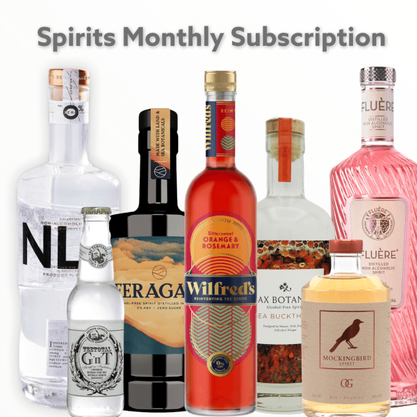 Spirits Monthly alcohol free spirits subscription